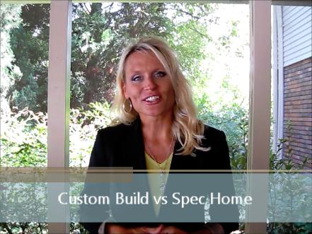 Custom Build vs Spec Home