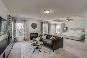 1922 Saxon Valley Cir NE Master Suite - Brookhaven Homes for Sale 30319