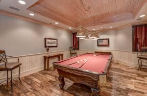 Sandy Springs Real Estate Listing For Sale - Billiards Room