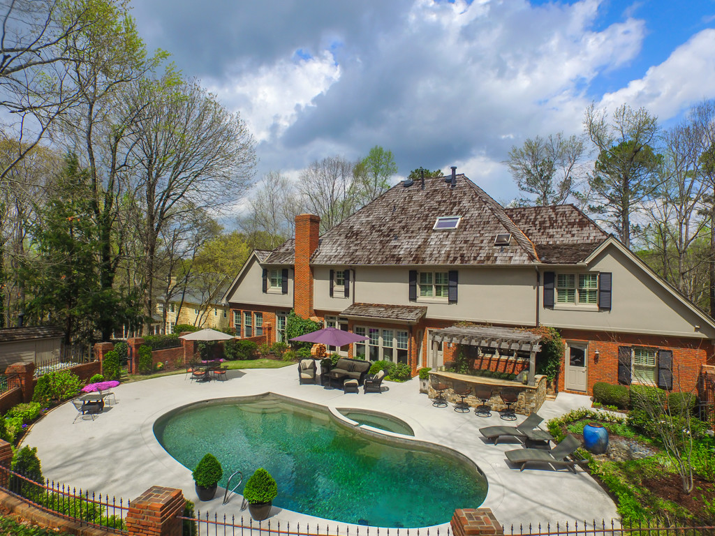 Sandy Springs Real Estate Listing For Sale - Pool and Spa