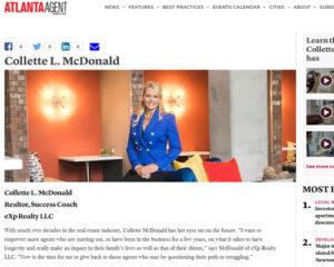 Atlanta Agent Magazine - Collette McDonald